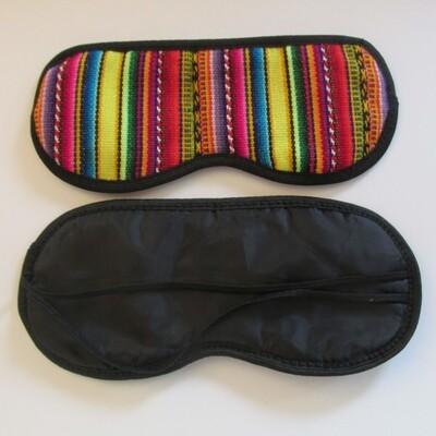 Cache-yeux en tissu péruvien (awayo)