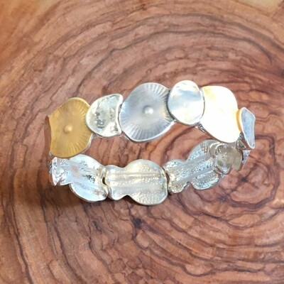 Bracelet en métal, boho design