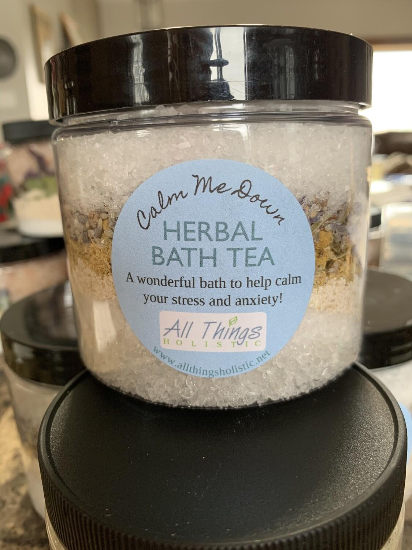 Calm Me Down Herbal Bath Tea