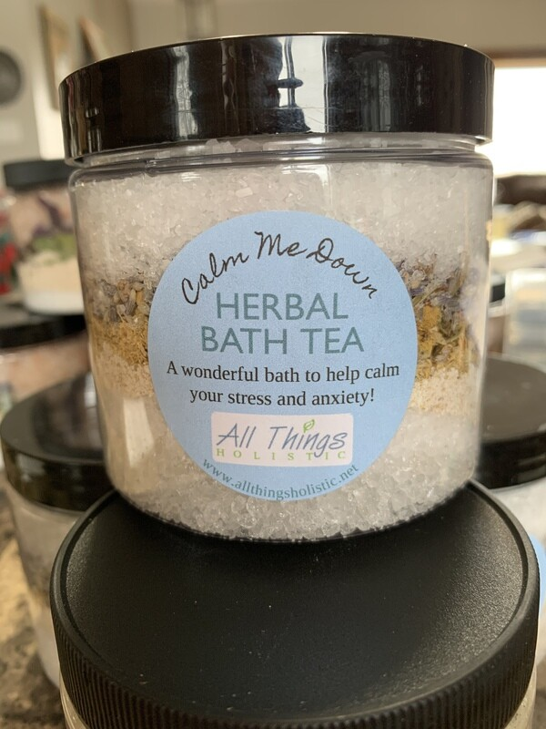 Calm Me Down Herbal Bath Tea