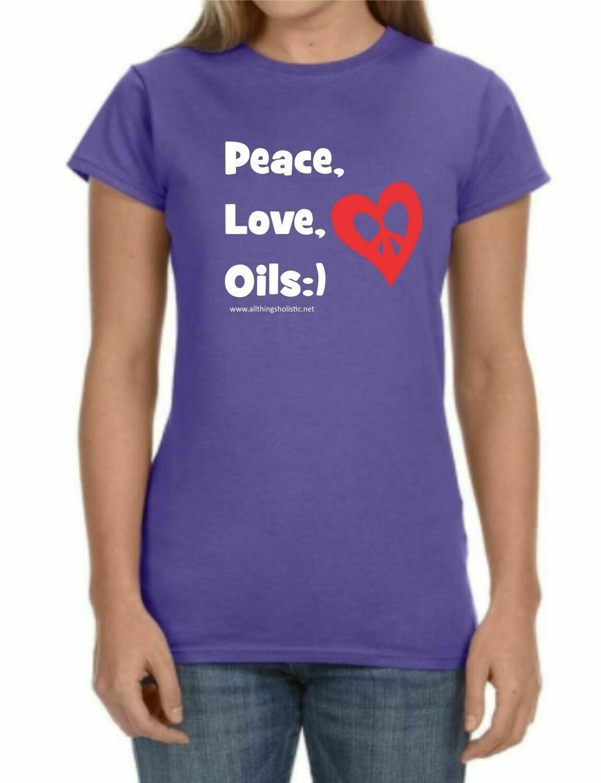 Peace, Love, Oils T-Shirt