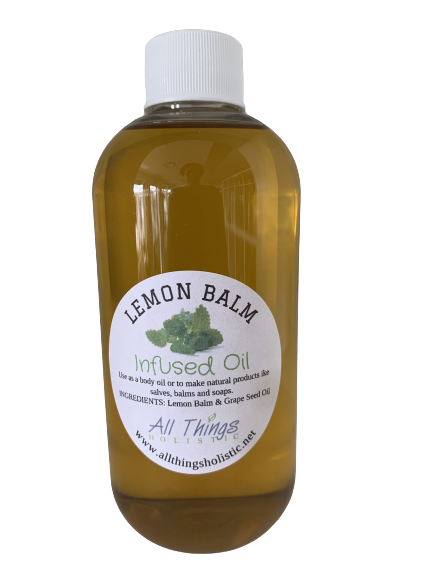 Lemon Balm Infused Oil - 8 oz