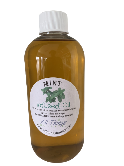 Mint Infused Oil - 8 oz
