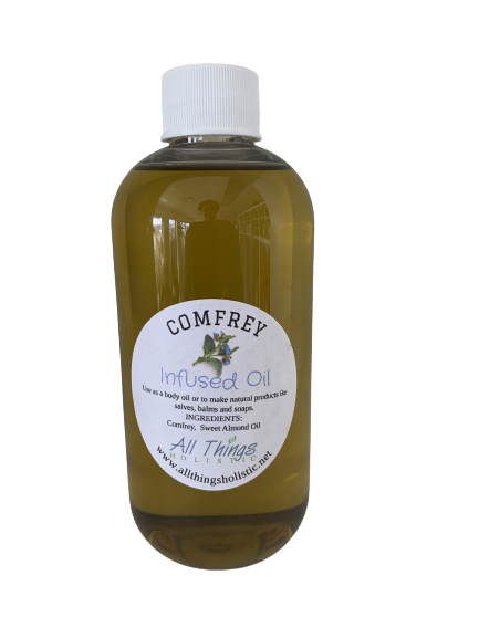 Comfrey Infused Oil - 8 oz