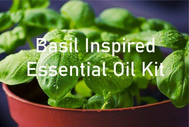 Basil Inspired Essential Oil Kit