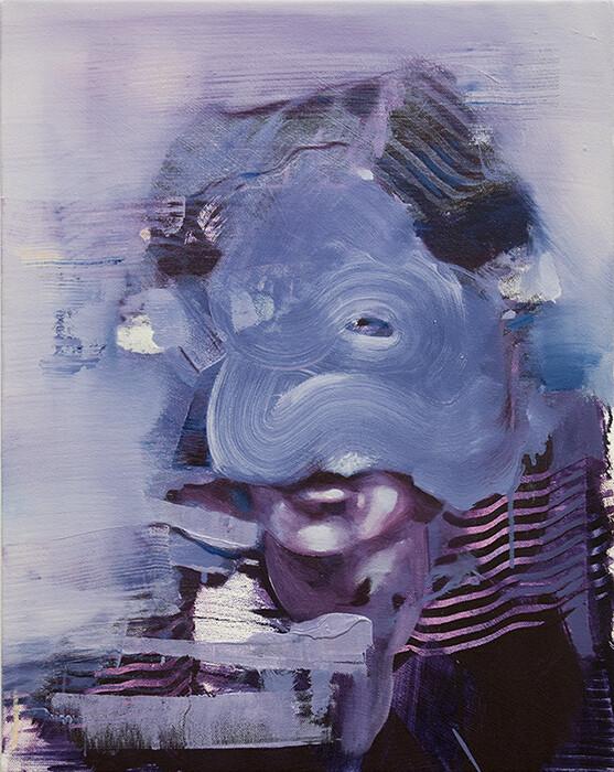 Repercussion I, oil on canvas | Bartosz Beda | Original Artwork