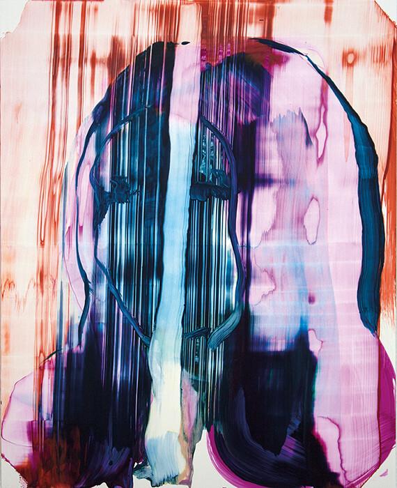Meta Color 06   Acrylic Painting   Artworks   Bartosz Beda