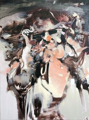 Goggle Woman II   Painting   Artworks   Bartosz Beda