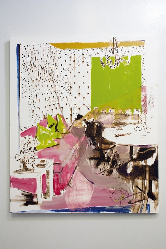 Intentionally Exposed 06 | Original Painting | Interior Painting | Bartosz Beda
