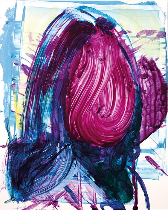Meta Color 03 | Acrylic Painting | Artworks | Bartosz Beda