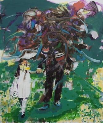 Duality I, oil on canvas   Original Artwork   Painting   Bartosz Beda