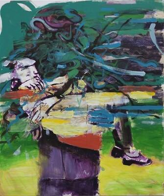 Duality II, oil on canvas   Original Artwork   Painting   Bartosz Beda