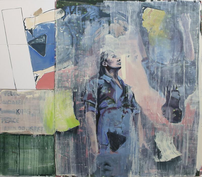 Ten Starts From One, oil on canvas | Original Artwork | Painting | Bartosz Beda