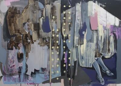 Ten Starts From One III, oil on canvas | Original Artwork | Painting | Bartosz Beda
