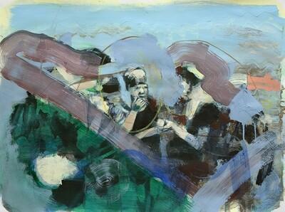 Family Memories, oil on canvas | Original Artwork | Painting | Bartosz Beda