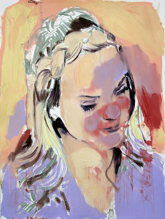 Into color, oil on canvas   Original Artwork   Painting   Bartosz Beda