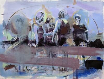 Family Memories II, oil on canvas | Original Artwork | Painting | Bartosz Beda