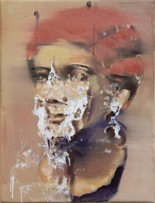 Marble - Portrait of Woman | Original Artwork | Painting in Oils