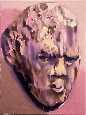 Reflection 01 | Original Painting by Bartosz Beda | Figurative Portrait Art