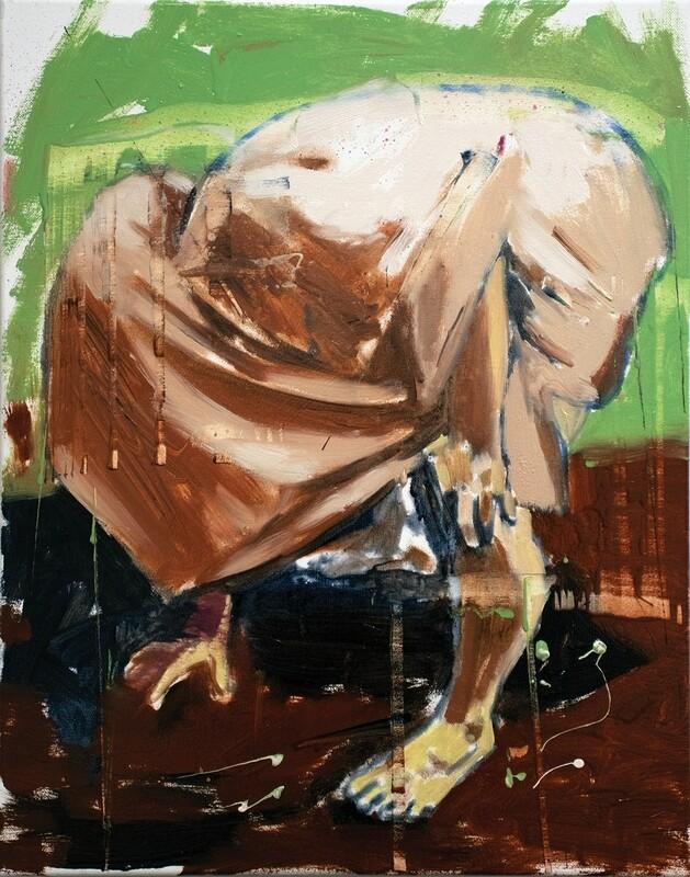 On The Make 01 | Original Painting | Bartosz Beda | Figurative Abstraction