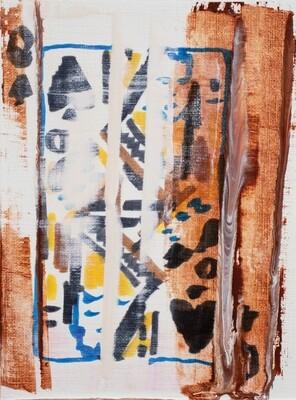 Less Than or Equal To 049 | Original Painting | Bartosz Beda