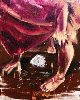 ​On The Make 02 | Original Painting | Bartosz Beda | Figurative Abstraction