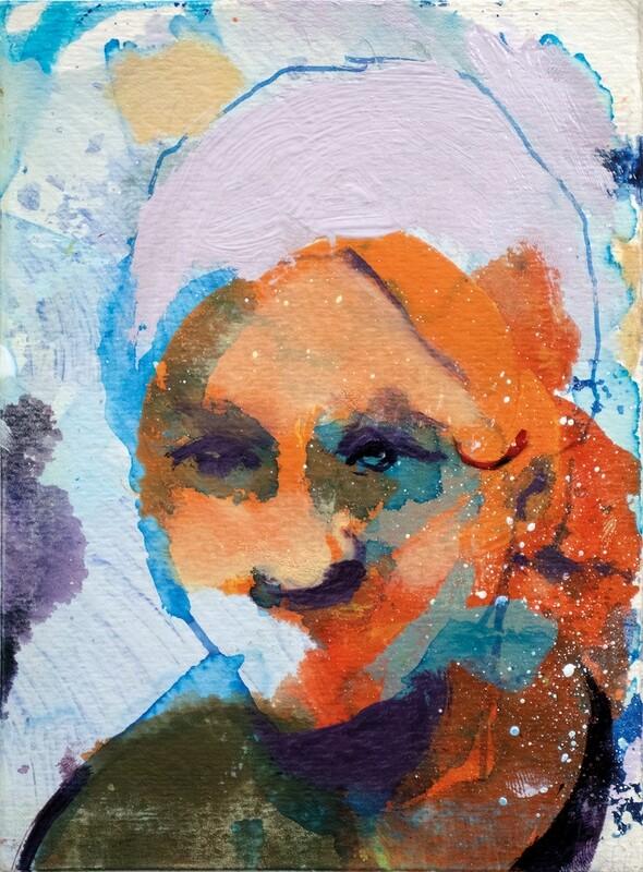 Less Than or Equal To 089 | Original Painting | Bartosz Beda