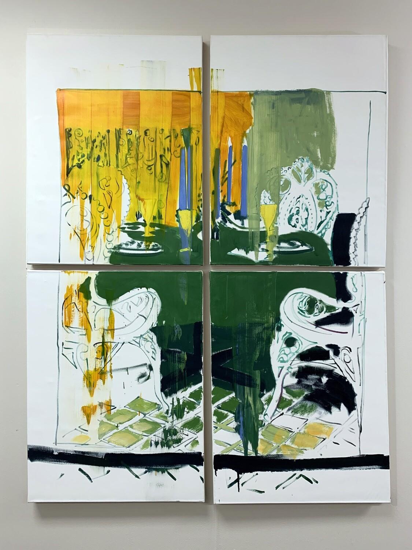 Intentionally Exposed 01 | Original Painting | Interior Painting | Bartosz Beda