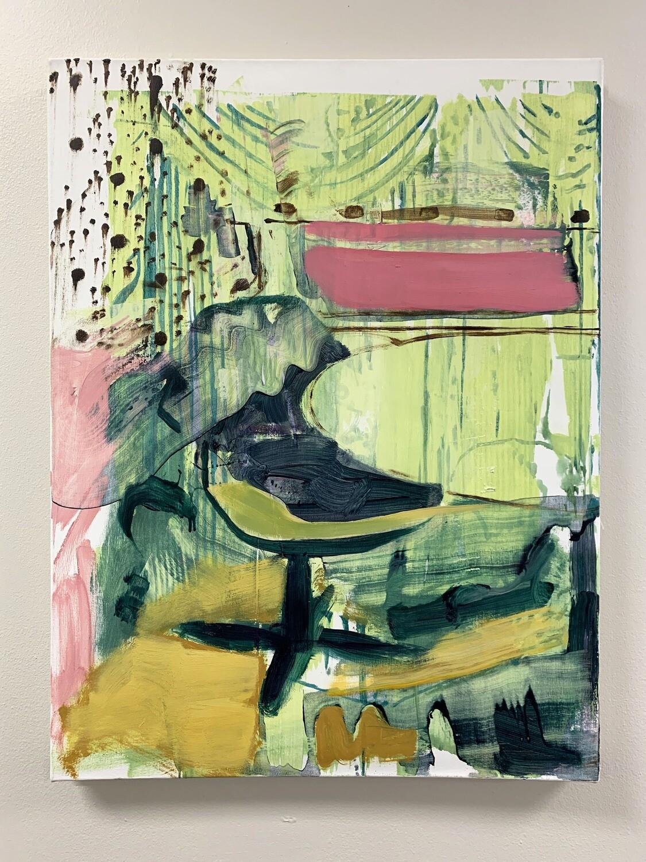 Intentionally Exposed 03 | Original Painting | Interior Painting | Bartosz Beda