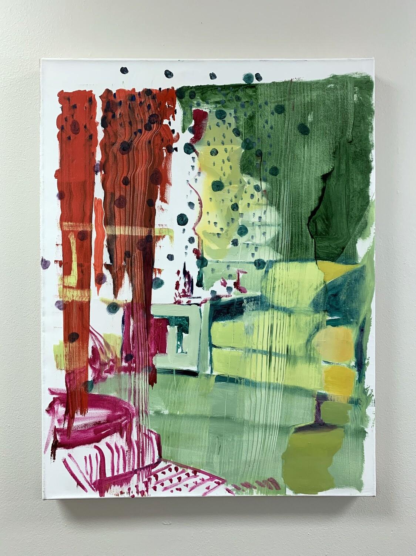 Intentionally Exposed 04 | Original Painting | Interior Painting | Bartosz Beda