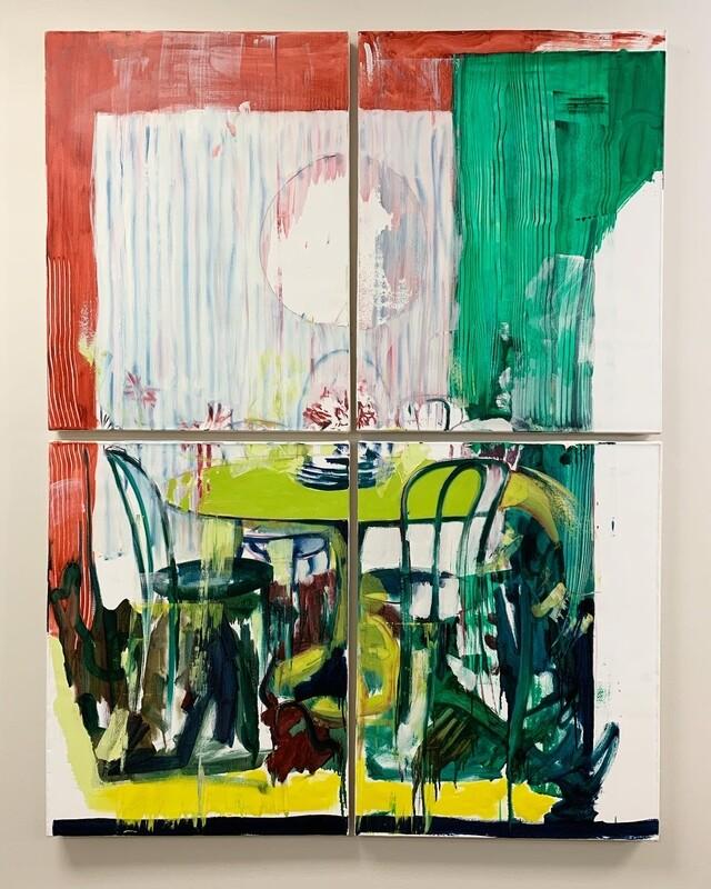 Intentionally Exposed 02 | Original Painting | Interior Painting | Bartosz Beda