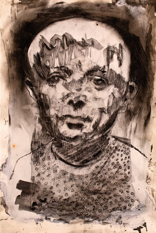 Triggers 02 | Original Portrait Painting | Bartosz Beda