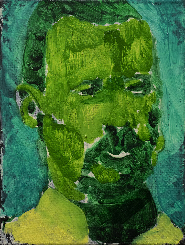 I don't know what to call you V   Portrait Painting in Oil on Canvas   Bartosz Beda