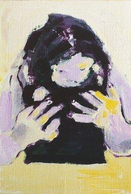 Original Acrylic on Paper: Metempsychosis 001