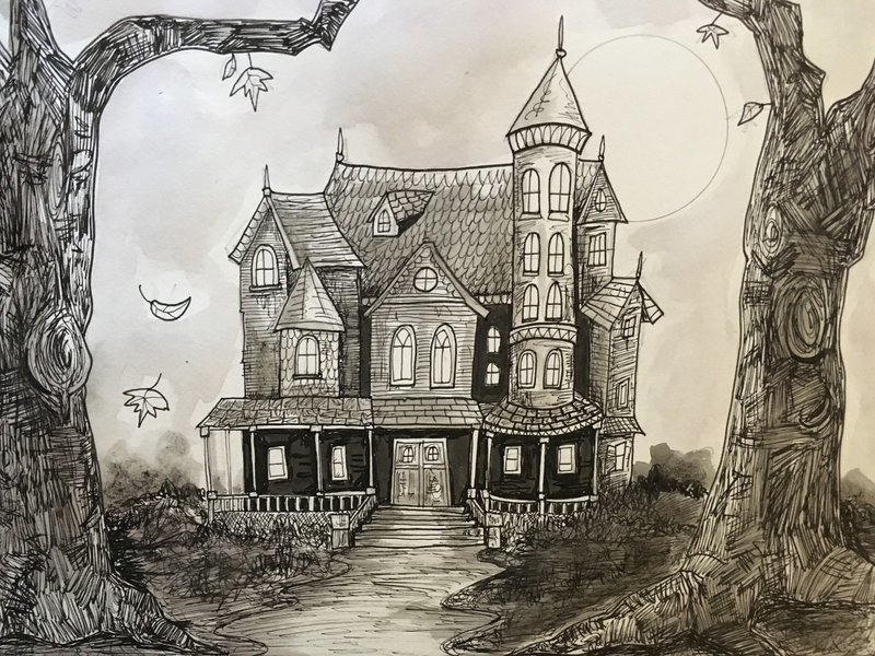 Haunted Mr. Quint's (ART PRINT)