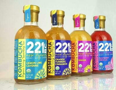 221 BC Kombucha Probiotic  $$  ON SALE FOR JULY   $$