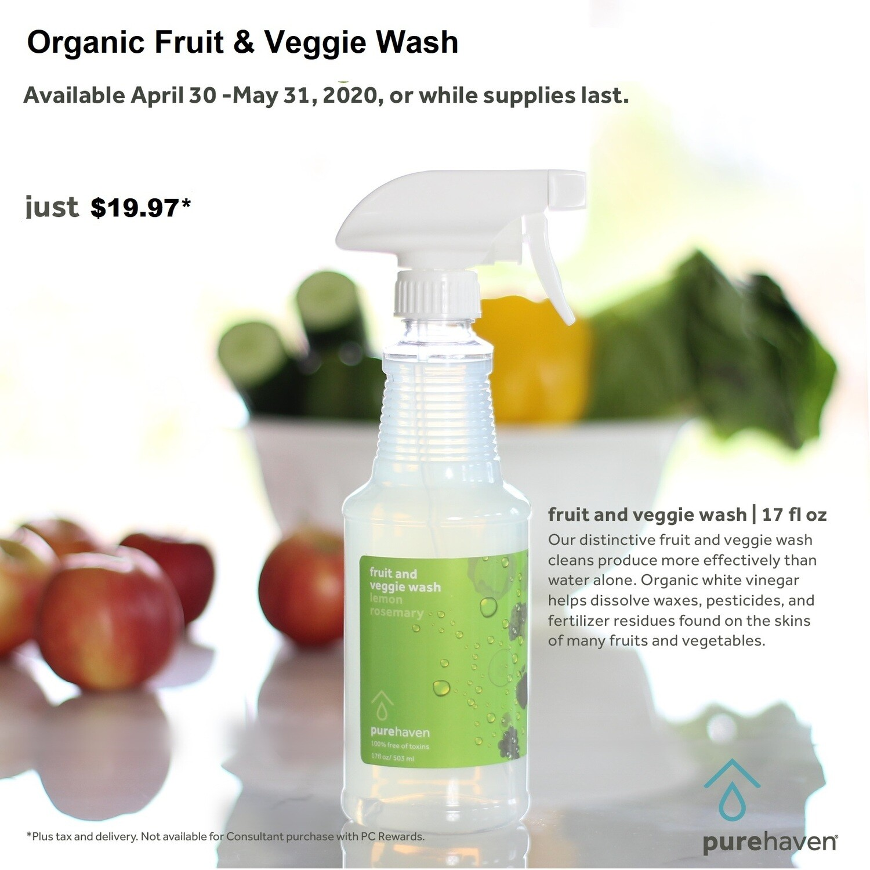 Organic Fruit & Veggie Wash