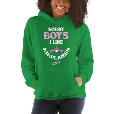 Sorry Boys! Hooded Sweatshirt