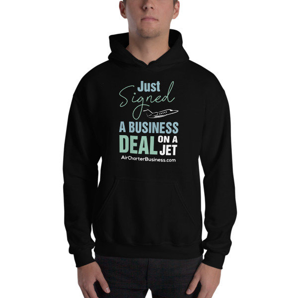Business Deal Hooded Sweatshirt
