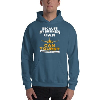 Just Because Hooded Sweatshirt
