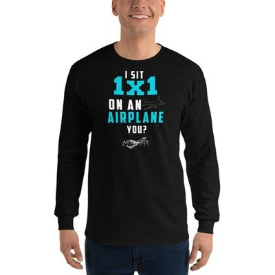 Where do you sit? Long Sleeve T-Shirt