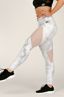 Women's leggings - Marble Tech