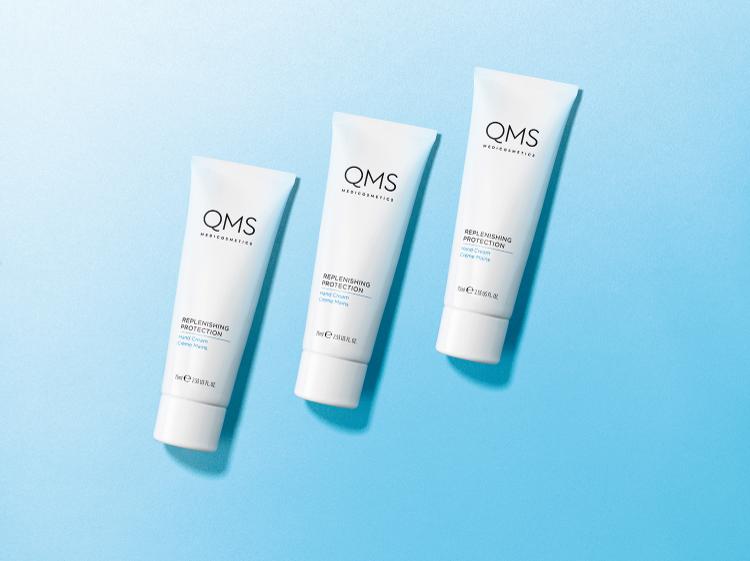 QMS Replenish Protection Handcreme
