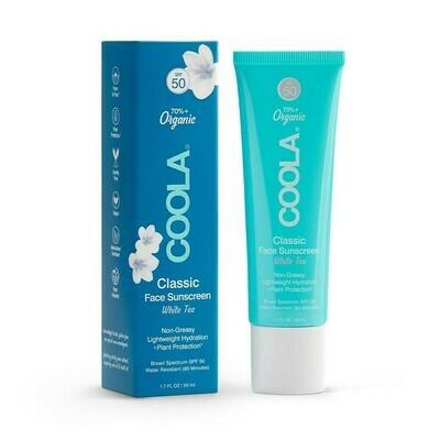 Coola classic sport sunscreen white thea 50ml spf 50