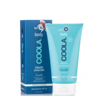 Coola classic sunscreen body SPF30 unscented 148ml