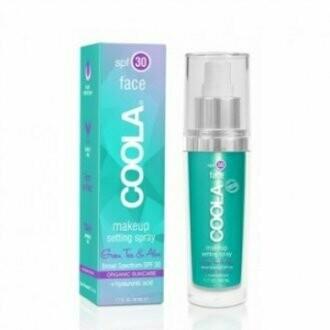 Coola make-up setting spray green tea&aloe vera SPF30 50ml