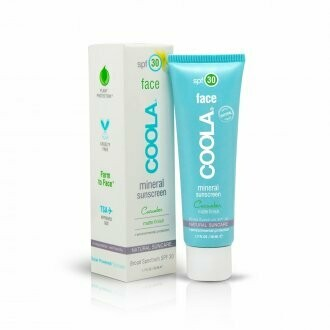 Coola mineral face SPF30 matte finish cucumber 50ml
