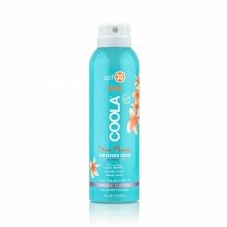 Coola sunscreen body spray citrus mimosa SPF30 236ml