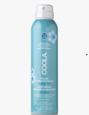 Classic Body Spray SPF 50 Unscented 177ml