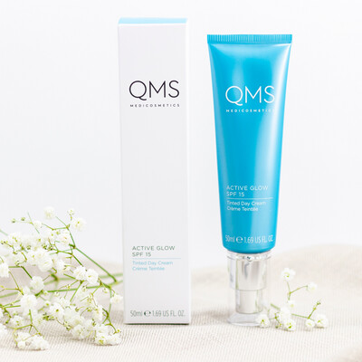QMS Active Glow Tinted Day Cream Spf 15